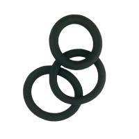Nodivein TRIPLE - Silikoninen penisrengassarja, 3kpl