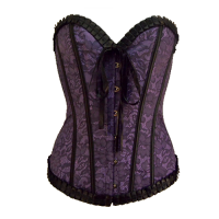 GK Glamour Purple korsetti