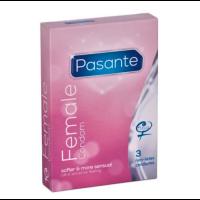 Pasante -naisten kondomi 3 kpl