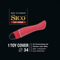 Sico -Seksivälineiden käyttösuoja 34mm 12 kpl/ pussi