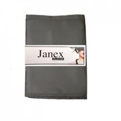 JANEX-huivi, metallinharmaa, pieni