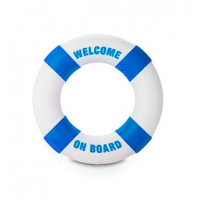 "Buoy - Penisrengas tekstillä, ""WELCOME ON BOARD"""
