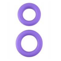 Neon- Laadukas, silikoninen penisrengassarja, violetti